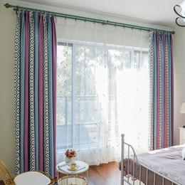tende oscuranti grigio Sconti Moderno, Nuovo splicing Ombra Ciniglia Tende per Soggiorno pranzo Camera da letto.