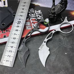 Couteau pliant poche pliante en Ligne-Haute Qualité Défense Camping Tactique Combat Mini griffe couteau de Karaté chasse pliant couteau de poche couteau de survie cadeau Hommes