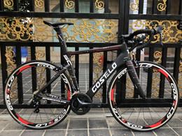 Cuadro de fibra de bicicleta de carretera online-Costelo Speedcoupe sky color 2.0 cuadro de bicicleta de carretera de carbono 2018 Costelo bicicleta bicicleta marco cuadro de bicicleta de fibra de carbono
