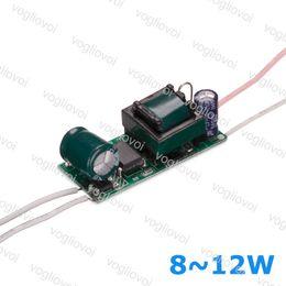 12w светодиодный драйвер Скидка Led трансформатор 300MA AC110 AC220V AC240V IP20 8 Вт 9 Вт 10 Вт 11 Вт 12 Вт для Downlight лампы прожектор встроенный драйвер печатной платы EPACKET