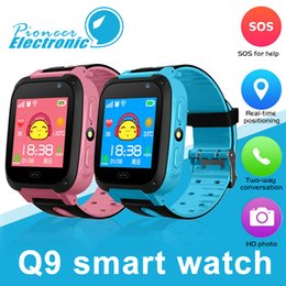 baby tracker child Promo Codes - Q9 Smart Watch Children Wrist Watch Waterproof Baby Watch With Remote Camera SIM Calls Gift For Kids pk dz09 a1 SmartWatch