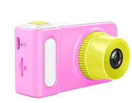 Mini cámara digital para niños online-Cámara para niños Cámara para niños Juguete para niños pequeños de 2.0 pulgadas mini cámara digital 20pcs / lot