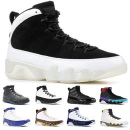 Грузовое пространство онлайн-Nike Air Jordan 9 Retro UNC 9s Мужчины Дизайнер Баскетбольная Обувь 9 Bred Dream It It It Space Jam Топ Дешевые Тренер Спортивные Кроссовки Размер 8-13 Бесплатная Доставка