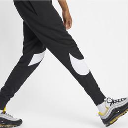 Pantaloni del progettista degli uomini di modo Pantaloni 2019 nuovi uomini di marca di sport di arrivo nuovi pantaloni casuali degli uomini superiori attivi di lunghezza completa da