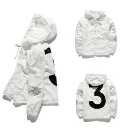 2019 mens Kanye West Giacca Hip Hop Windbreaker stilista giacche Uomini Donne Streetwear Outerwear JK001 alta qualità Coat da