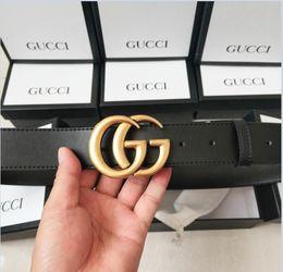 c6c250e85 Include Original Box 2019 Design Belt Men and Women Fashion Belt Women  Genuine Leather Belt More Color Buckle Leather