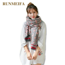 51b2828d0f683 girls shawls pattern Coupons - RUNMEIFA double side scarf with mini airplane  pattern and flowers oversized