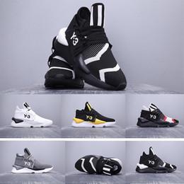 39-45 homens sapatilhas y3 kaiwa robusto sapatos casuais y-3 chunky esportes sapatilhas formação sapatos casuais para homens com caixa cheap y3 sneakers de Fornecedores de y3 tênis