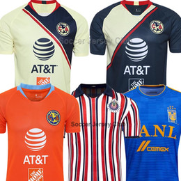 b8a778707f8 club america jerseys Coupons - 18 19 20 Mexico LIGA MX Club America soccer  jersey CHIVAS