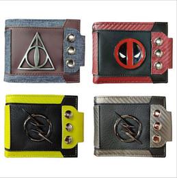 2019 nouveau patch métallique rétro portefeuille Harry Potter Deadpool sept perles de dragon portefeuille carte portefeuille ? partir de fabricateur