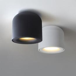 Клиновое крепление онлайн-DHL Накладные светодиодные светильники COB Точечный свет для гостиной, спальни, кухня, ванная комната, коридор, AC 90v-260v