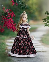 405a891e1ac11ab 2019 новорожденных девочек цветочные принцессы платье летние дети с  цветочным принтом кисточкой рябить платье детей без бретелек длинные платья  Y2239