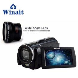 """Winait Full HD 1920 * 1080 de la cámara de vídeo digital de 3,0"""" de pantalla táctil 24MP de alta definición grabadora de vídeo 16x zoom digital desde fabricantes"""