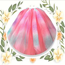 Argentina Arco iris vestido organza rollo de tul carrete boda cumpleaños decoración del partido accesorios ancho es 15 cm diferente longitud tamaño A682 Suministro