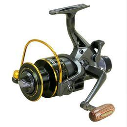 2019 bobines en métal Moulinet de pêche 11 Roulements à billes Spinning Dual Brake System Smooth Metal Spool GT 5.0: 1 MG3000 / MG4000 / MG5000 / MG6000 bobines en métal pas cher