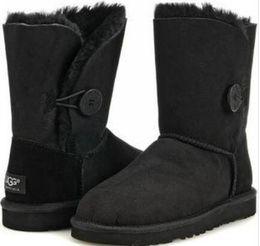 2019 vente chaude Australie classique neige Bottes de haute qualité à bas prix femmes bottes d'hiver en cuir véritable Bailey boo neige arc bowknot bailey femmes ? partir de fabricateur
