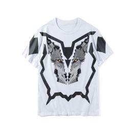 2019 comic-con-t-shirts  Mode-Männer Stylist-T-Shirt Sommer-Qualitäts-Männer Frauen 3D Printed Kurzarm Herren Stylist Tees Wolf Print Größe M-2XL