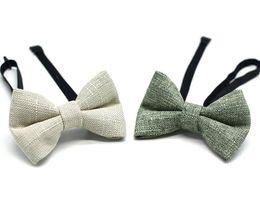 Moda cravatta ragazze online-Bambini Fashion Bow Tie Bowknot Lavoro manuale bambini Bow Tie Shirts Ragazzi cravatta Neonate Bowtie Bambini Neck Tie Accessori all'ingrosso