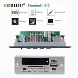 planches à sous Promotion KEBIDU Module de carte de décodage MP3 / Bluetooth5.0 MP3 de voiture sans fil Lecteur de carte son de carte TF / carte de décodage à distance USB / FM