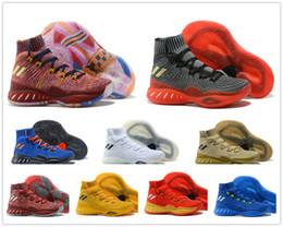 сумасшедшие носки Скидка Новый цвет 2018 Crazy Explosive 2018 Эндрю Уиггинс баскетбол обувь для высокого качества Мужские носки спортивная подготовка кроссовки размер 7-12