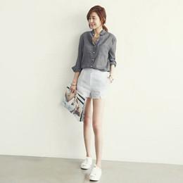 хлопок льняная блуза женская Скидка Fashion Vetement Femme Long Sleeve Shirt Women Tops Fashion Women Blouses Linen Cotton White Blouse Blusas Co1