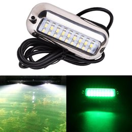 Automobiles & Motorcycles Boat Parts & Accessories Reasonable 50w 27led Red/blue/green Boat Light Underwater Pontoon Marine Transom Light Ip68 Waterproof Stainless Steel Anchor Stern Lamp