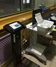 2019 Новое прибытие !!! Модный анализатор жировых отложений / анализатор состава тела с принтером для использования в клубе Homesports от