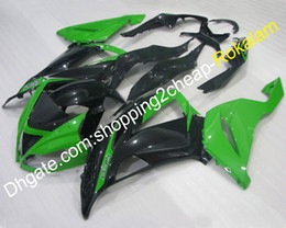 2019 ninja 636 parti Kit carenatura verde nero per Kawasaki Parts Ninja 636 ZX636 13 14 15 ZX6R 2013-2015 ZX 6R ZX-6R Ricambi moto (stampaggio a iniezione)
