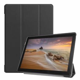 Ультра тонкий книга флип PU кожаный чехол для Lenovo Tab E10 TB-X104 10,1-дюймовый планшет Sleep Wake от Поставщики тонкая обложка книги