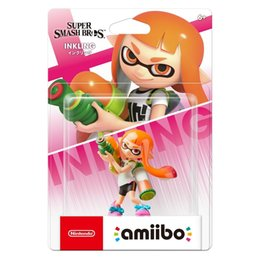 Cambiar chica online-[Oferta limitada] Nintendo Amiibo Inkling Girl SSB Super Smash Bros Series Switch Wii Rare Orange