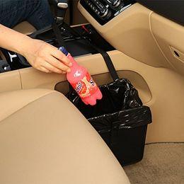 Confortável Lixeira Para Carro Original Patenteado Portátil Drive Bin Premium Pendurado Lixeira de