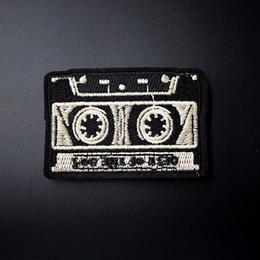 Taille de la cassette: 5x7.2cm Badges Mend Décorer Patch Jeans Sac Chapeau Vêtements Vêtements Couture Couture Applique Patchs Embellissement ? partir de fabricateur