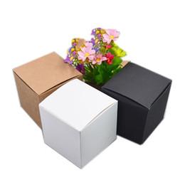 2019 крафт-картон 50шт 13 Размеры крафт бумаги картонные коробки для подарка ювелирных изделий конфеты Упаковка картонная коробка подарка мыло Упаковка Упаковка бумажная коробка Белый J190706 дешево крафт-картон