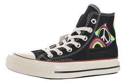 2019 вулканизованные ботинки Mens Chuck 1970 Pride Parade Вулканизированные ботинки для мужчин Ботинки Taylor Canvas Ботинки для скейтбординга Женские ботильоны для скейтбординга Женские кроссовки дешево вулканизованные ботинки
