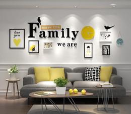Criativa Europeia Stype Home Design com fotos da família do quadro da decoração da parede de retrato de madeira Frame Set Definir parede Photo Frame, Branco Preto Home Decor de Fornecedores de molduras para casamentos