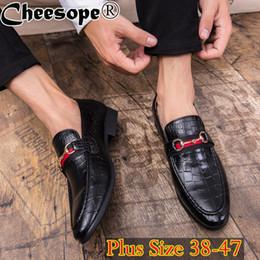 2019 gentleman schuhe stil Koreanische Version Männer Pferd Schnalle Kleid Schuhe Männer Klassische Plus Größe Luxus Stil Mode Formale Büro Hochzeit Herren Schuhe rabatt gentleman schuhe stil
