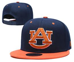 stock de chapeaux de relance Promotion Casquettes New Auburn Tigers 2020 College Football Snapback Chapeaux Cap équipe Couleur Bleu Noir Chapeau Mix match ordonner MAJUSCULES en stock en gros