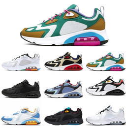 air sneakers max Coupons - Men running shoes 200 Bordeaux University air Red Mystic Green triple max Black White Royal Pulse trainers sports sneakers Size 40-46