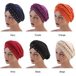 2019 tampas de cabelo africano Moda Caps Turbante Bandana Novo estilo trançado headwrap Ponto Africano Broca Leite Cabeça De Seda Envoltório Torção Acessórios Para A Faixa de Cabelo desconto tampas de cabelo africano