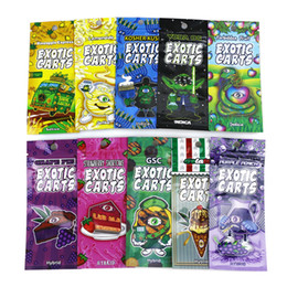 mini bobinas de destino Rebajas Nuevos 30 sabores Exotic Carts Mario Carts Ziplock Bags Package para Vape Cartridge Packing 1.0ml AC1003 92A3 Vape Tank 510 Cartuchos