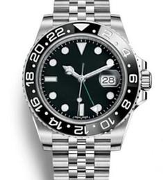 glisse de mode des montres de seconde main montres mens lunette en céramique GMT automatique jubilé Montre Orologio di Lusso Orologi da Uomo montres Blue Black ? partir de fabricateur