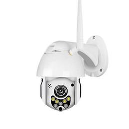 piccola telecamera interna ip Sconti 2019-New 1080P 2MP Telecamera IP wireless Telecamera dome Telecamera di sicurezza CCTV Telecamera di visione notturna a infrarossi per esterni Telecamera P2P audio WIFI