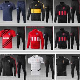 valencia casa cf Desconto 2019 2020 Atletico Madrid Futebol Define Inter Fatos Lukaku Jacket uniforme ALEXIS João Félix de Formação sportswear de manga comprida