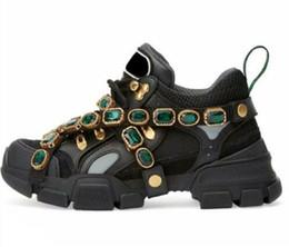 Argentina 2018 Flashtrek Calzado casual con cristales extraíbles Mujeres HOMBRES Diseñador Zapatillas de correr Zapatos para escalar montañas Botas de excursionismo al aire libre 55 Suministro