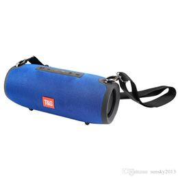 bluetooth lautsprecher hy Rabatt TG118 Big Extream Lautsprecher Bluetooth Stereo Subwoofers Boom Box Hifi Super-2 * 10W Soundbox mit 3600 mAh Außen Amplifer Lautsprecher