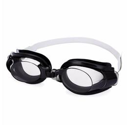 Мужские клипсы для ушей онлайн-3 In 1 Water Park Ear Plug Nose Clip Adjustable Swim Goggle Protective Women Men Swimming Supply Set Clear Accessories Glasses