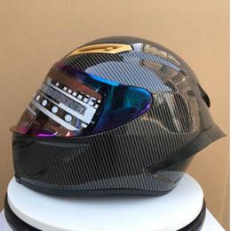 Accidents de moto en Ligne-Casque moto-casque Carburo moto vintage moteur de moto bonne protection en cas de collision et masque de casque de moto de bonne qualité