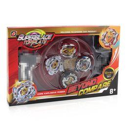 Beyblade classici online-Nuovo 4PCS Bayblades Burst Holder Box Beyblades Popper 4D Fusion Metal Arena classica battaglia Giocattoli B104 B105 B106 B120 scatola originale Y200109