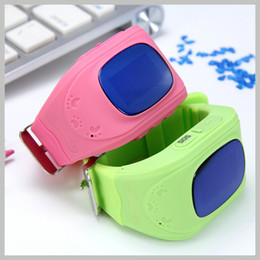 alarme mobile gratuite Promotion Anti Perdu Q50 smartwatch OLED Enfant GPS Tracker SOS Surveillance Intelligente Positionnement Téléphone Enfants GPS Bébé Montre Enfants Compatible IOS Android