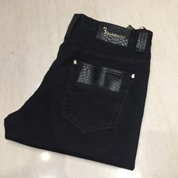 a3b3ba1af406 BILLIONAIRE jeans men 2019 new arrival fashion comfort high quality  geometry fitness trouser gentleman size 32-42 free shipping #357945
